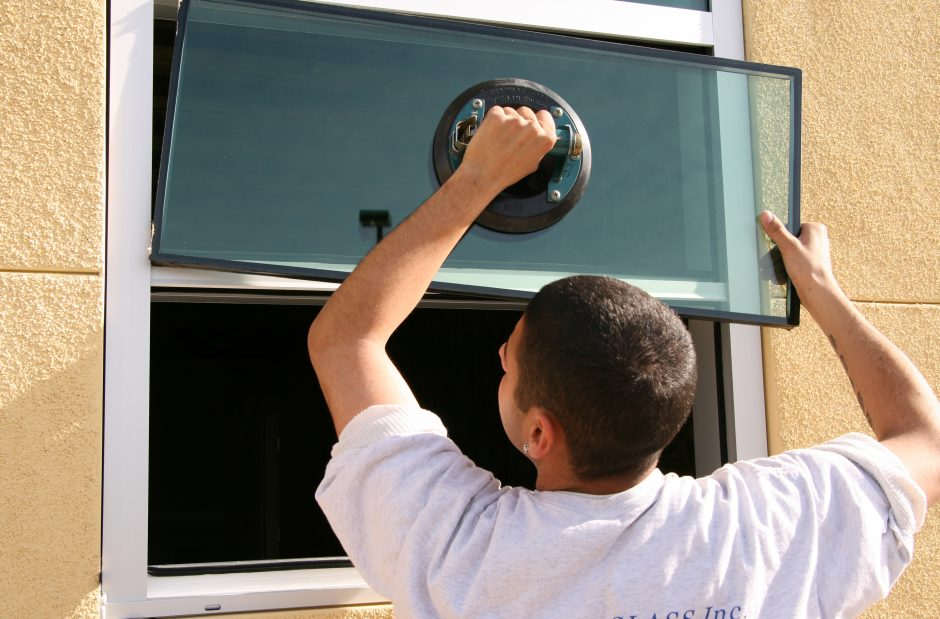 Double pane window glass replacement in Ahwatukee Phoenix AZ